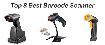 Top 8  Best Wireless/USB Barcode Scanners Reviews In 2020