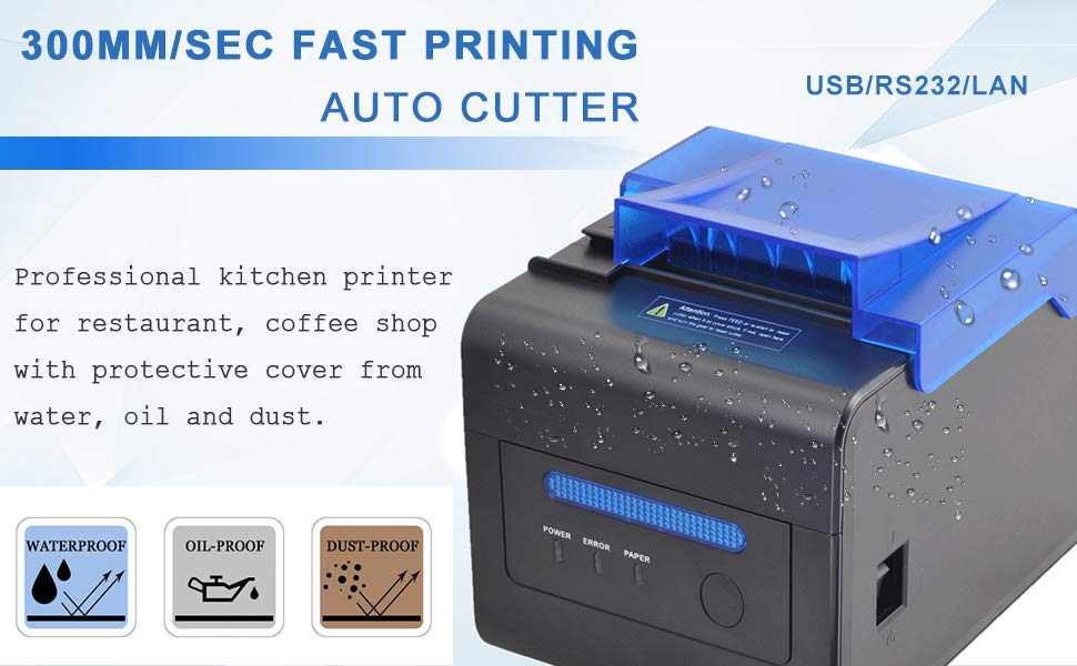receipt printer and kitchen printer
