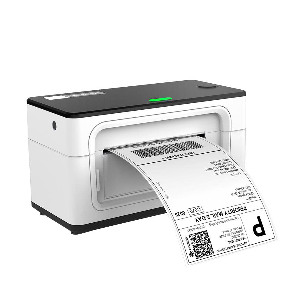 Munbyn Thermal Shipping Label Printer 104mm USB White/Grey ITPP941