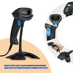 Screen Barcode CCD Scanner with Adjustable Stand for IPBS058