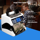 Money Counter Machine and Sorter Count Multi Currency IMC01 | MUNBYN time saver