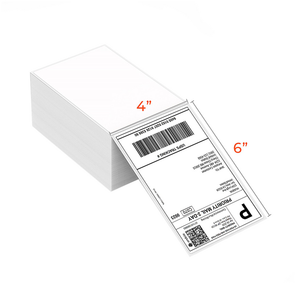 4x6 Waterproof Stack Label compatible with MUNBYN/ROLLO/ZEBRA
