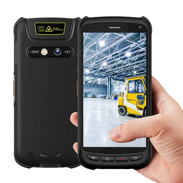 IPDA037 Industrial PDA with NFC and 2D Zebra Barcode Scanner - munbyn