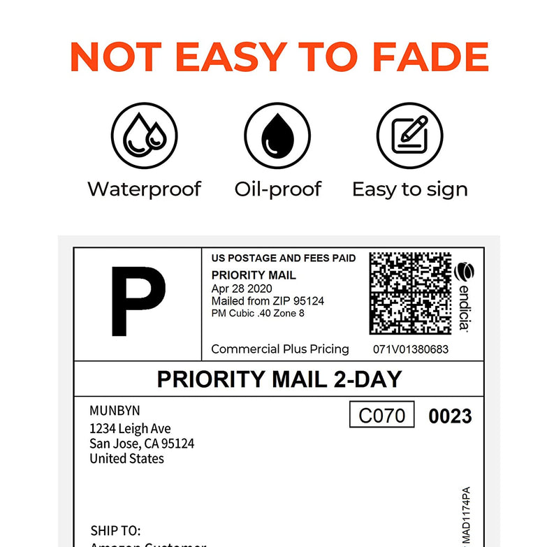4x6 Thermal Direct Shipping Label | MUNBYN