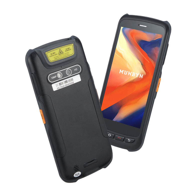 Ultra Slim Light Rugged PDA with NFC 2D Zebra Scanner IPDA037