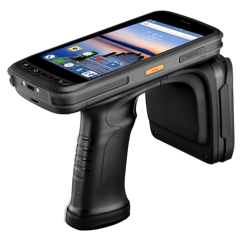 Upgraded Android 8.1 UHF RFID 2D Barcode Scanner IPDA056