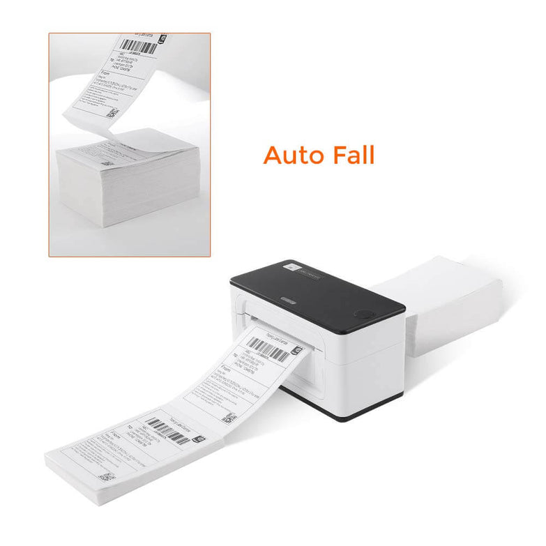 4x6 Waterproof Shipping Thermal Fan-Fold Label compatible with MUNBYN/ROLLO/ZEBRA