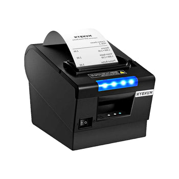 MUNBYN 80MM Thermal Receipt Printer with USB Serial and LAN Port