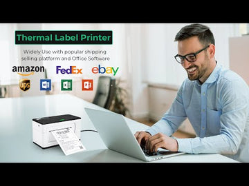 104mm USB Thermal Label Printer White ITPP941