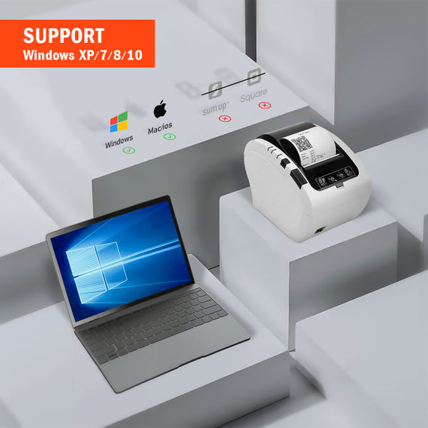 Special ITPP047 80MM Thermal Receipt POS Printer Auto Cutter USB LAN