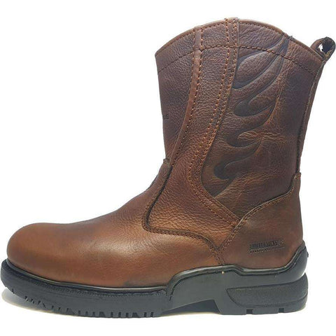 Alonzo Round Steel Toe Boots