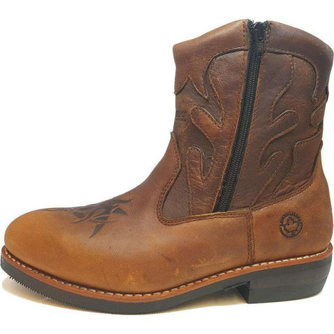 Brewton Ankle High Western Boots
