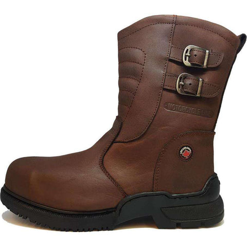Freeland Round Steel Toe Boots