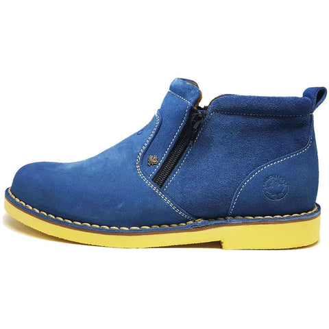 Zerdex Suede boots with zip