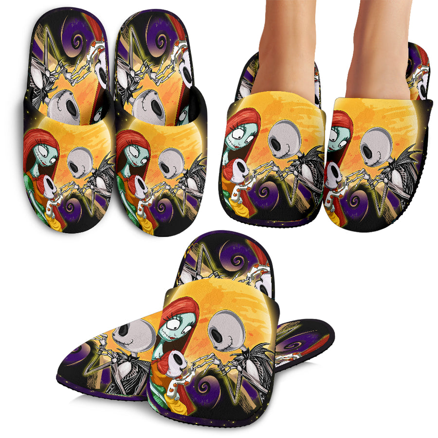 Nightmare Before Christmas Family Slippers