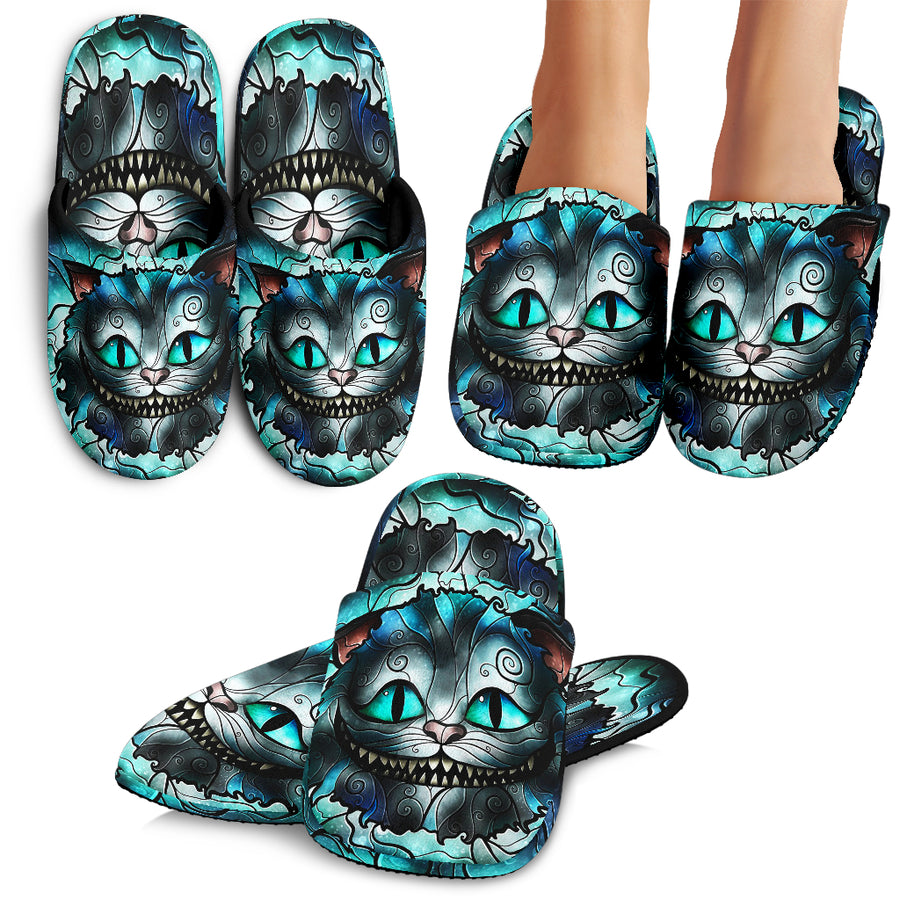 Cheshire Cat Slippers