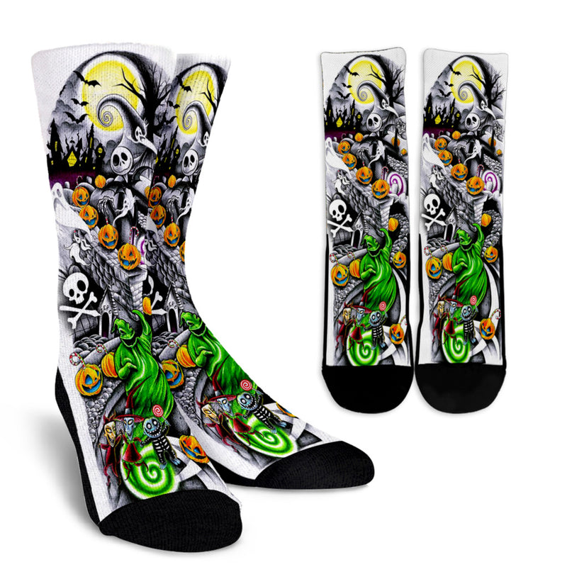 nightmare before christmas socks 1