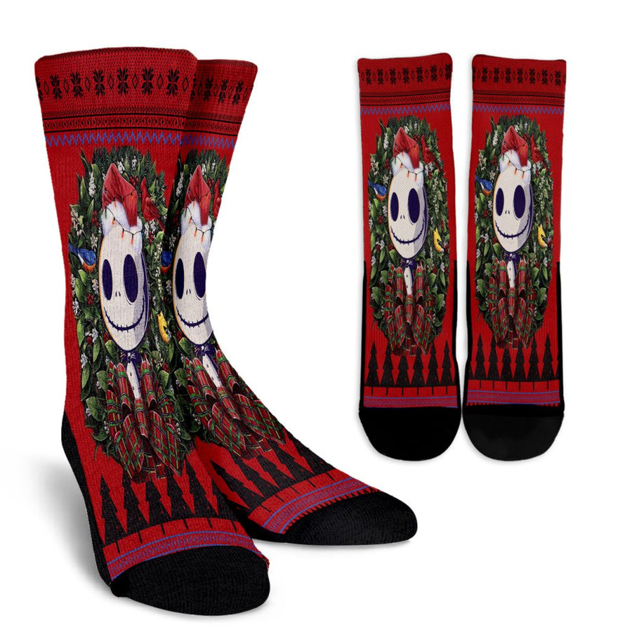 Ulgy christmas Jack nightmare before christmas noel socks - perfect christmas gift