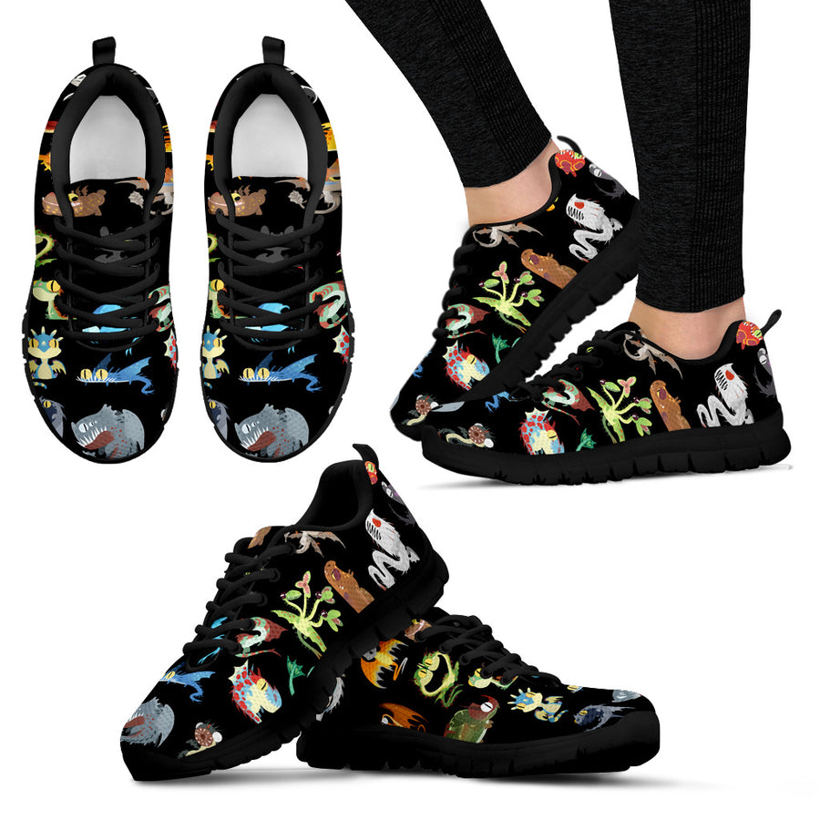 How To Train Your Dragon Hidden World Women's Sneakers