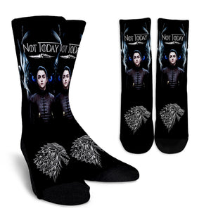 Arya Stark Night King Socks