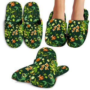 Pokemon Grass Slippers 2
