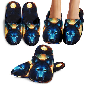 Wolf Moon Slippers
