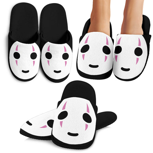 No Face Slippers