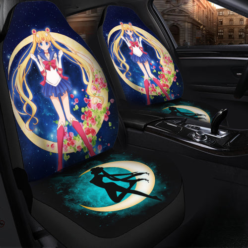 Sailor Moon Seat Covers