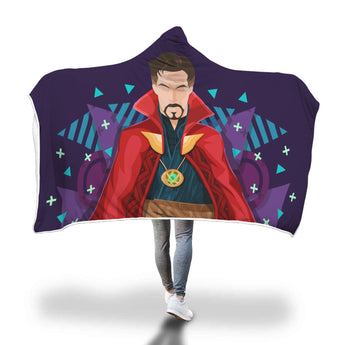 Doctor Strange Hooded Blanket