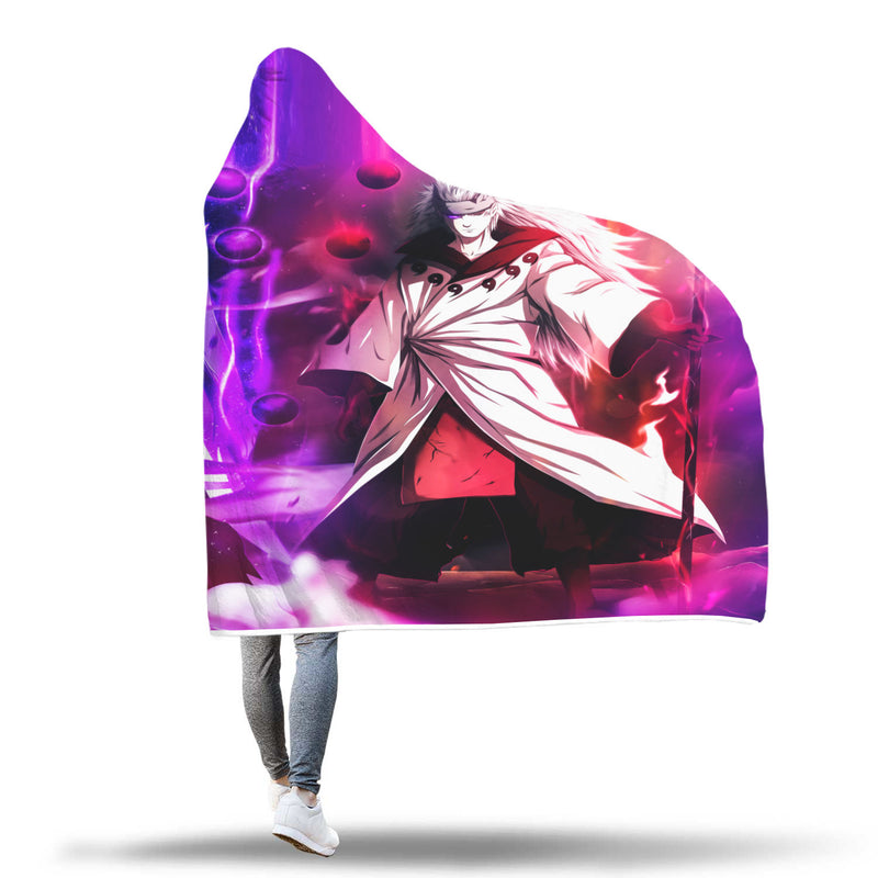 Obito Madara Hooded Blanket