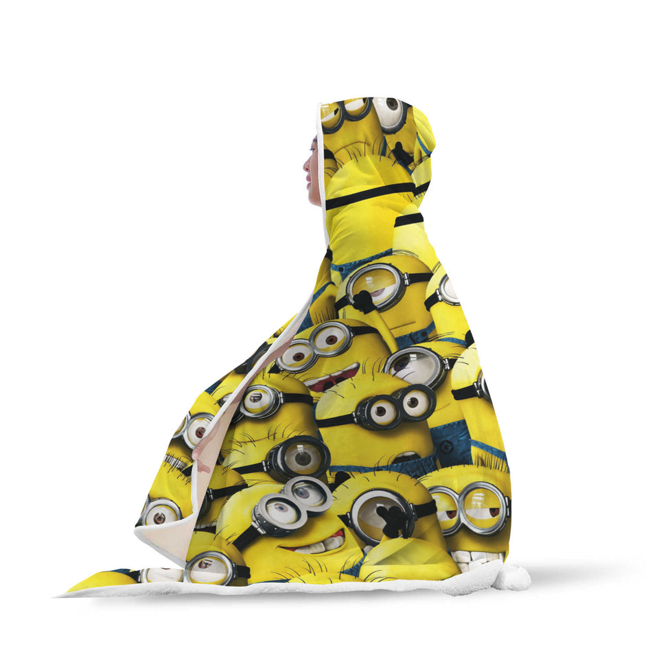 Minions Hooded Blanket
