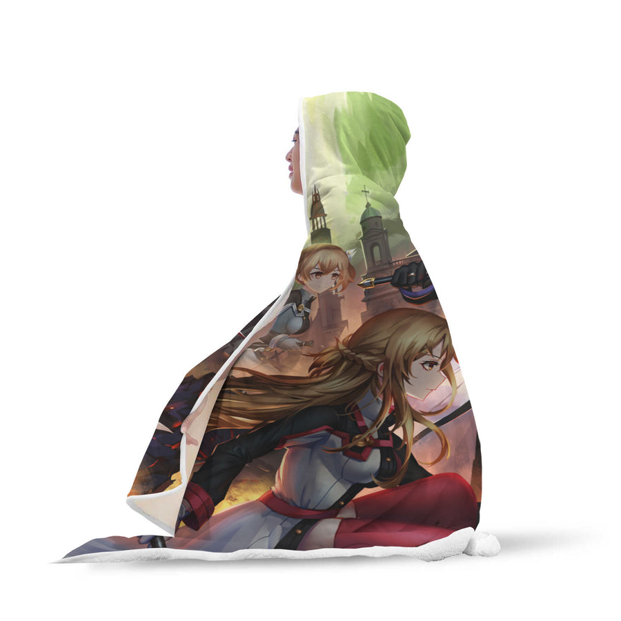 Sword Art Online Hooded Blanket