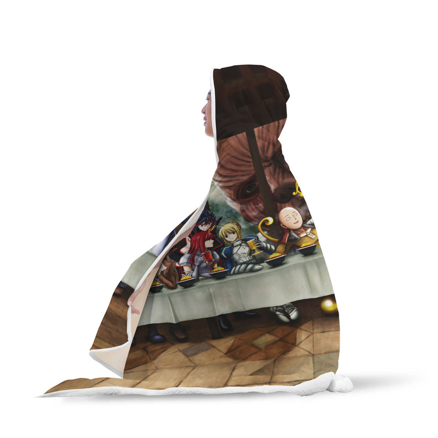 The Last Party Anime Hooded Blanket