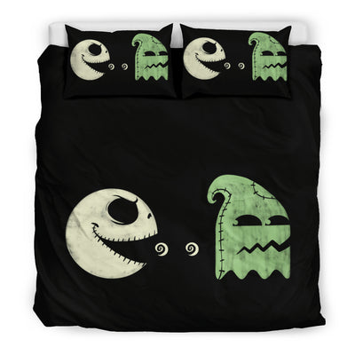 Pacman Jack Skellington Bedding Set