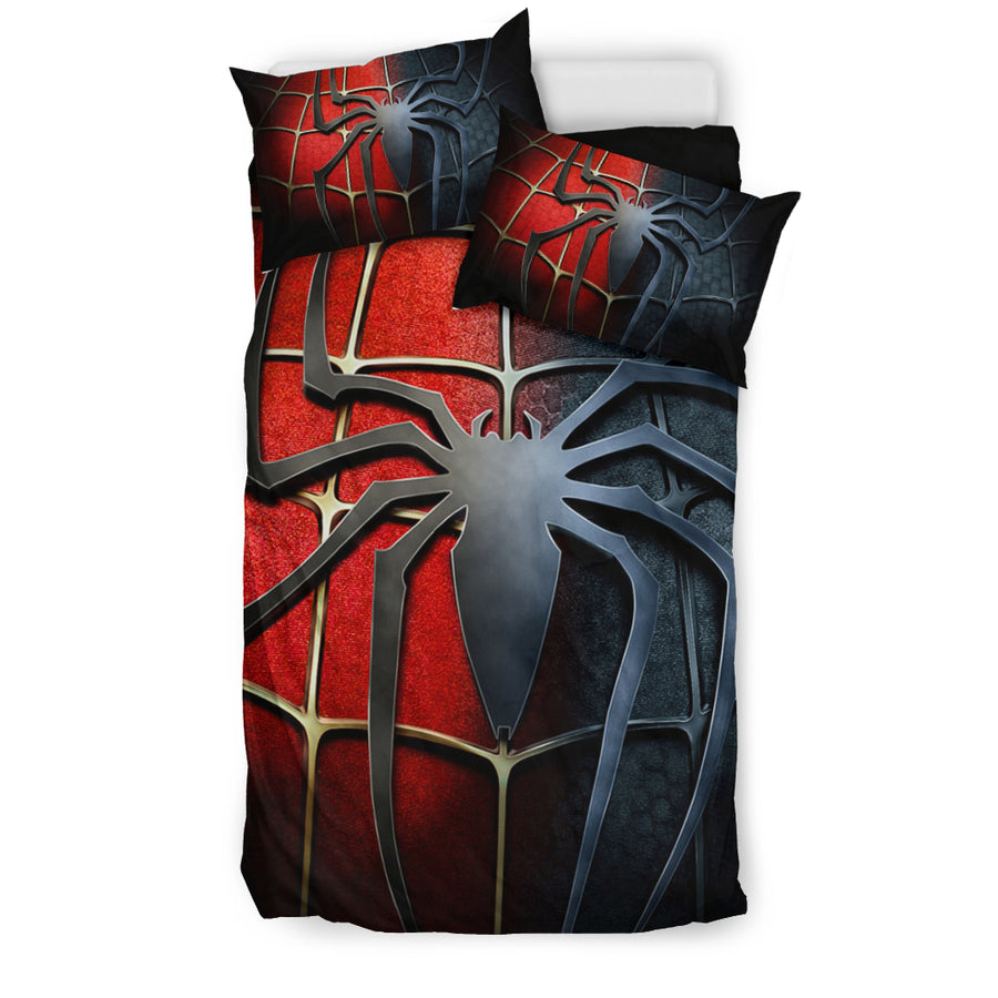 Spiderman Venom Bedding Set - duvet cover and pillowcase set