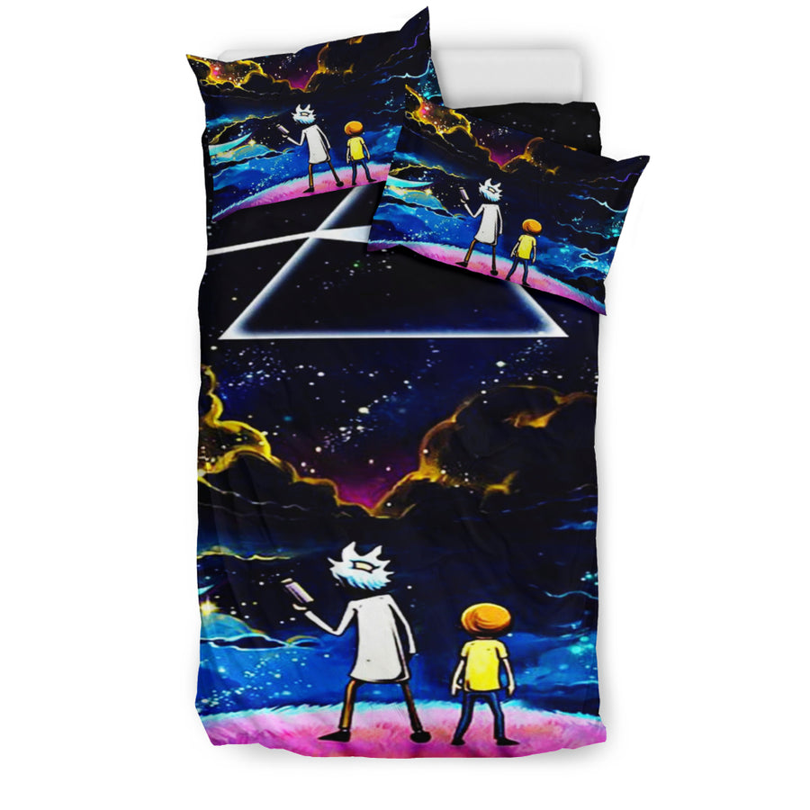 Rick And Morty Bedding Set 3 - duvet cover and pillowcase set