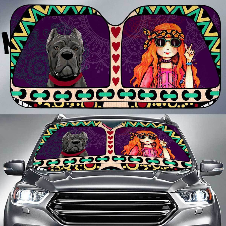 Cane Corso Peace Auto Sun Shade amazing best gift ideas 2020