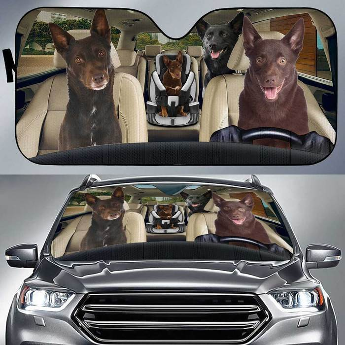 Australian Kelpie Auto Sun Shade Baby In Car, Multi Sizes Auto Sun Shade For Pet Lovers amazing best gift ideas 2020