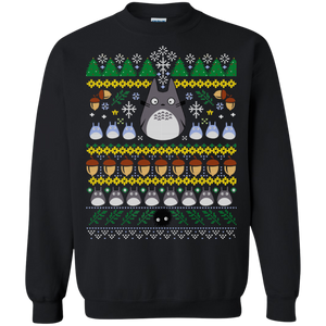 Totoro Christmas Sweater 1