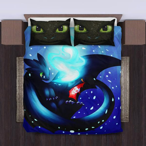 Toothless How To Train Your Dragon Bedding Set