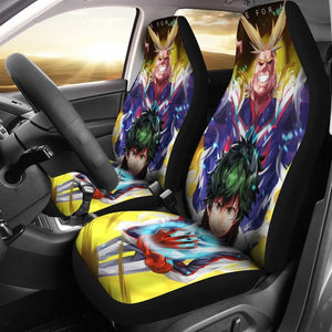 All Might My Hero Academia Car Seat Covers - 99Shirt