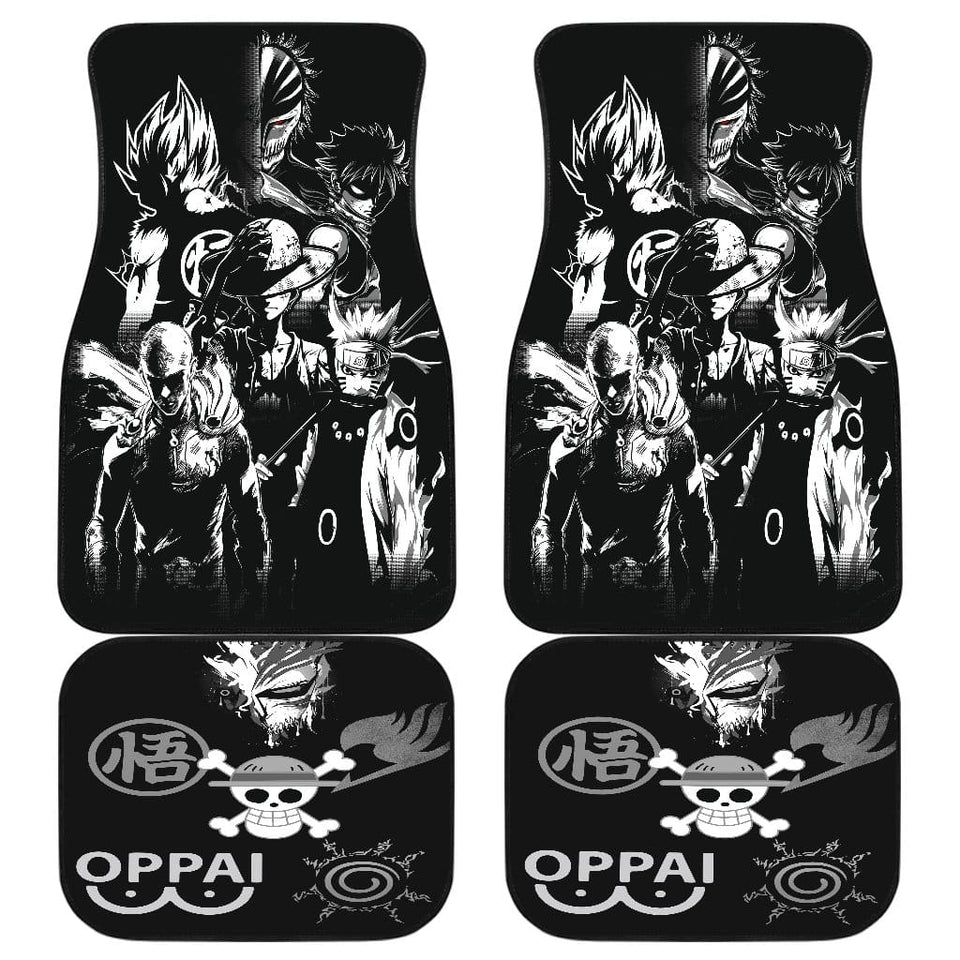 Anime Heroes 2020 Front And Back Car Mats (Set Of 4)