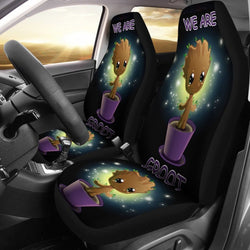Baby Groot Car Seat Covers - 99Shirt