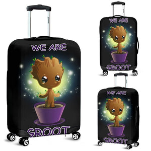 Baby Groot Guardians of the Galaxy Luggage Covers - 99Shirt