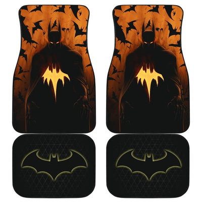 Batman Front And Back Car Mats (Set Of 4) - 99Shirt