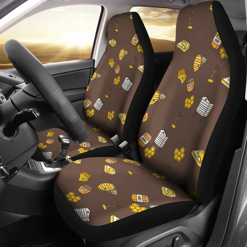 Bee Car Seat Covers - 99Shirt