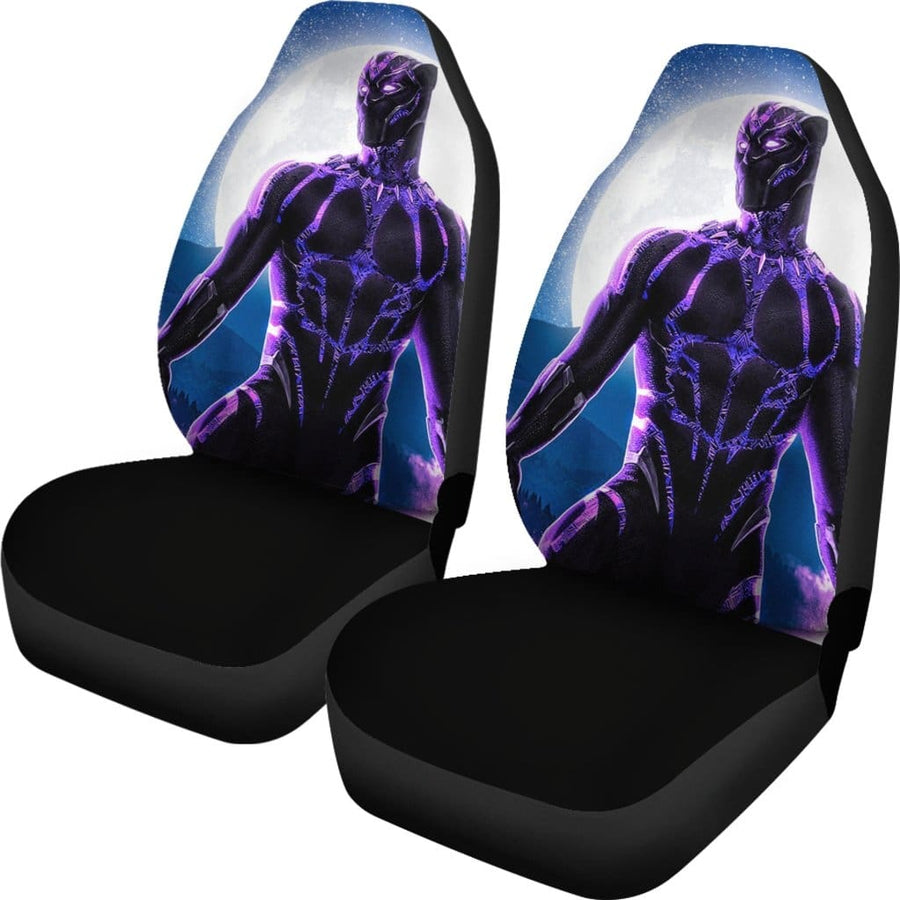 Black Panther Car Seat Covers 2 - Amazing Best Gift Idea