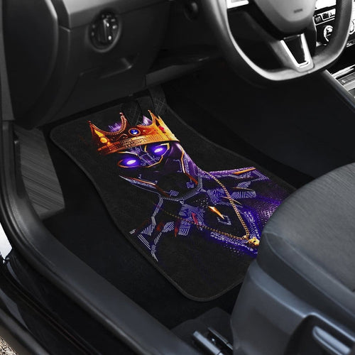 Black Panther Front And Back Car Mats (Set Of 4) - 99Shirt