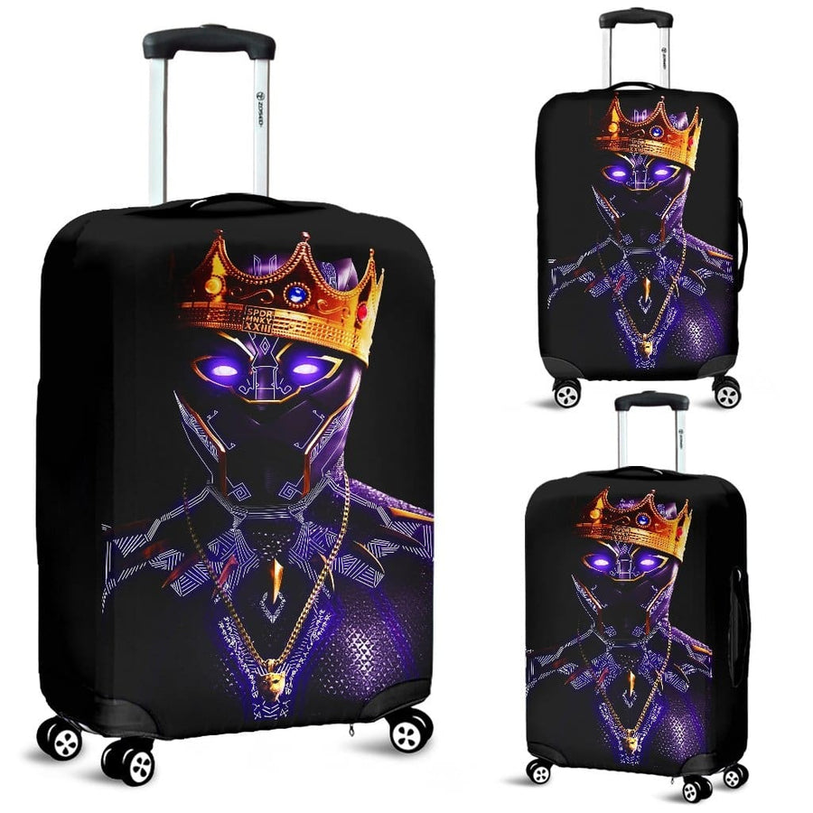 Black Panther King Luggage Covers