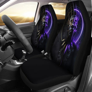 Black Panther New Car Seat Covers - 99Shirt
